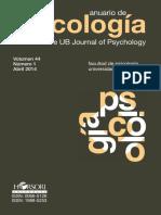 Anuario de Psicologia