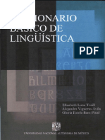 Diccionario Basico de Lingüistica
