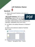 microsoft publisher mastrhandout