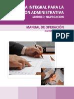 Manual Navegación al Sistema de Gestión de la Administración