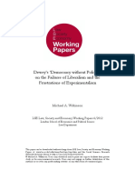 Deweys Democracy Without Politics