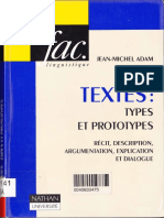 Les Textes - Jean-Michel Adam