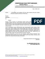 Surat Pelatihan Dirw
