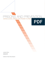 Prisons and Prevention