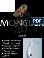Moncler Luxury Brand Overview