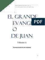 El Grande Evangelio de Juan