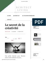 GÉNÉRIQUE - Le Secret de La Créativité 02