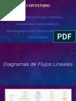 Diagramas condicionales, flujo y organigrama