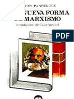 Anton Pannekoek - Una Nueva Forma de Marxismo (1974)