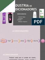 Industria de shampoos en Perú