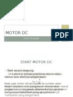 MOTOR DC Presentasi
