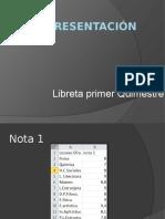 Diapositivas de Mi Libreta
