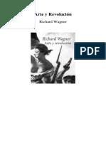 Wagner Richard Arte y Revolucion