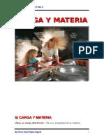 Carga y Materia. 2015 -2.