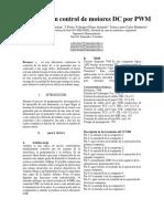 Diseño de UDiseño de un control de motores DC por PWMn Control de Motores DC Por PWM