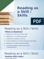 Reading as a Skill