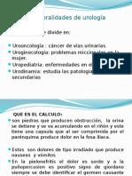 Generalidades de Urología
