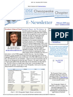 Chesapeake INCOSE Feb 2015 Newsletter