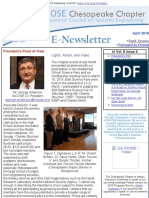 Chesapeake INCOSE Apr 2015 Newsletter
