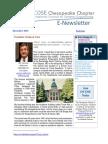 Chesapeake INCOSE Dec 2015 Newsletter