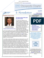 Chesapeake INCOSE Jul 2015 Newsletter