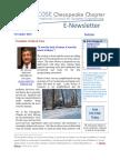 Chesapeake INCOSE Nov 2015 Newsletter