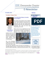 Chesapeake INCOSE Nov 2015 Newsletter