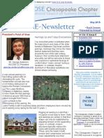 Chesapeake INCOSE May 2015 Newsletter