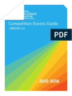 2015-16 competition events at a glance