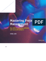 Mastering Project Management—Cathy Lake