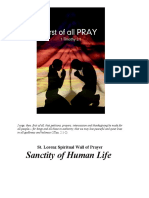 Sanctity of Life - Abortion.docx