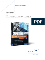 SAP_HANA Sales and Distribution