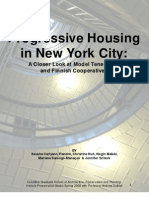 Progressive Housing in New York City