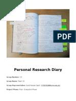 Evaluation Document