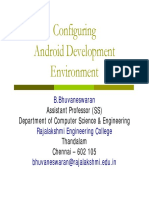 Configuring Android Development Environment