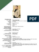 Curriculum Vitae PETRICAU ADRIAN
