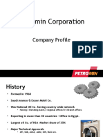 company profile - petromin
