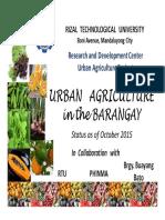 RTU Urban Agriculture Extension Presentation Sept 30 2015