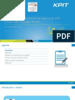 EBS iSupplier Portal