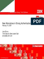 IBM StrongAuth