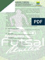 Proposal Futsal Se-Kota Bandung