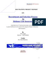 Recruitment and Selection - Sher singh