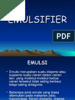 Emulsifier Makanan