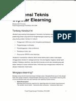 Referensi Teknis Seputar E-learning (Elisa)