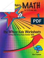Mighty Math 1 - The Whizz Kids Worksheets