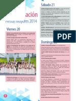 Programa Fiestas 2014 Benetusser