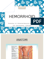 Ppt Hemorrhoid