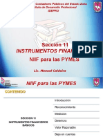 Seccion 11 y 12 Instrumentos Financieros