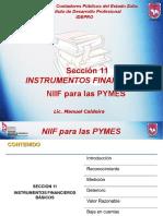 Seccion 11 y 12 Instrumentos Financieros