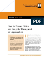 14 How to Ensure Ethics